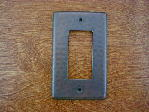 solid copper single gang gfi outlet switchplate cover