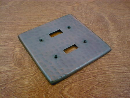 solid copper single gang gfi outlet switchplate cover ch0123ac