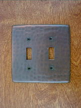 ch0123ac solid copper single gang gfi outlet switchplate cover