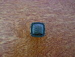 Antique bronze arts crafts square knob CH-0270az