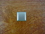 Old iron/pewter bungalow square top knob CH-1083.19