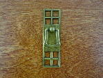 Antique brass bungalow vertical/drop handle CH-1504.09