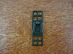 Oil rubbed bronze bungalow vertical pull CH-1504.22