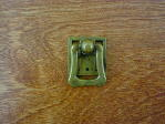 Old brass bungalow square bail pull CH-1506.03