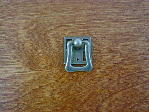 Old iron/pewter bungalow backplate finger pull CH-1506.19