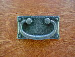 Antique pewter Mission horizontal bail pull CH-23153 width=
