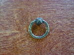 Antique brass Mission ring pull CH-31038