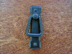 Black oxide Mission vertical bail pull CH-94.310