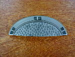 Antique pewter bungalow style cup pull CH-7527ap