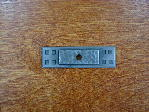Antique pewter bungalow style backplate CH-7529a